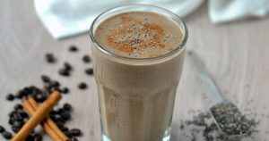Cinnamon chocolate smoothie