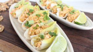Endive chicken tacos